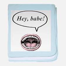 hey, babe! baby blanket