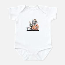Baby Elelphant Paints Infant Creeper
