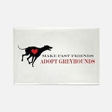 Adopt a Greyhound Rectangle Magnet (10 pack)
