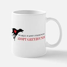 Adopt a Greyhound Mug