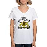 Baden Württemberg Germany Women's V-Neck T-Shirt