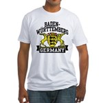 Baden Württemberg Germany Fitted T-Shirt