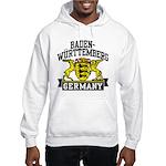 Baden Württemberg Germany Hooded Sweatshirt