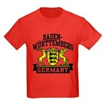 Baden Württemberg Germany Kids Dark T-Shirt