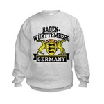 Baden Württemberg Germany Kids Sweatshirt