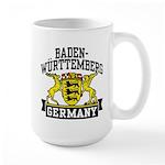 Baden Württemberg Germany Large Mug