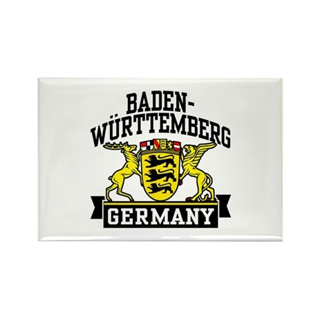 Baden Württemberg Germany Rectangle Magnet