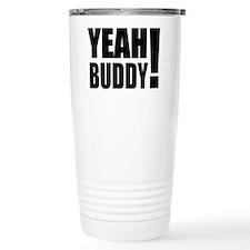 Yeah Buddy! (Black) Travel Coffee Mug