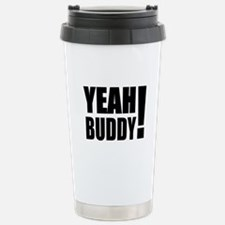Yeah Buddy! (Black) Travel Mug