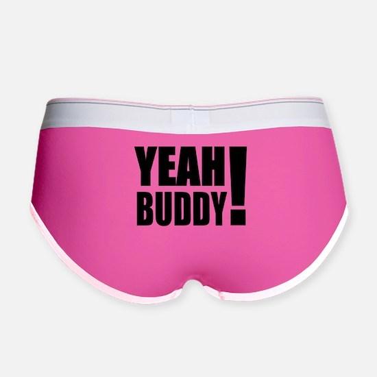 Yeah Buddy! (Black) Women's Boy Brief