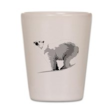 Polar Bear Shot Glass