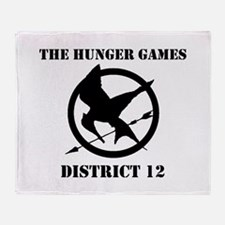Hunger Games Throw Blanket