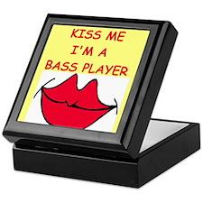 bass player Keepsake Box