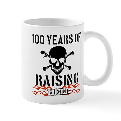 100 years of raising hell Mug