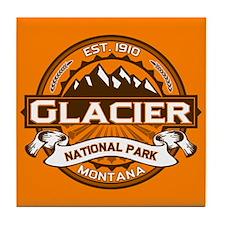 Glacier Pumpkin Tile Coaster