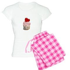 Valentine's day cupcake Pajamas