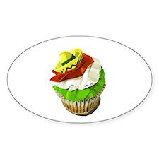 Cinco de Mayo cupcake Decal