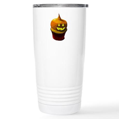 Halloween cupcake Stainless Steel Travel Mug