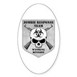 Zombie Response Team: Wyoming Division Sticker (Ov