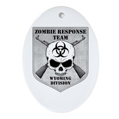 Zombie Response Team: Wyoming Division Ornament (O