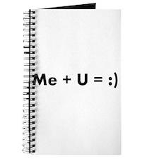 Me + U = :) Journal