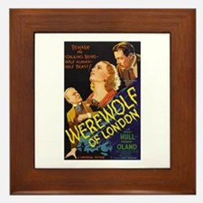 Werewolf of London Framed Tile