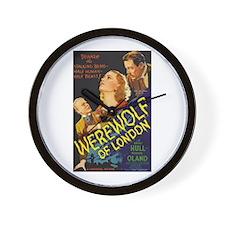 Werewolf of London Wall Clock