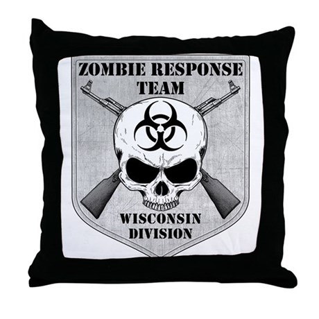 Zombie Response Team: Wisconsin Division Throw Pil