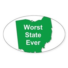 Cute Worst state ever Decal