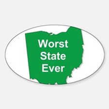 Funny State of ohio Decal