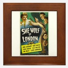 She-Wolf of London Framed Tile