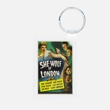 She-Wolf of London Aluminum Photo Keychain