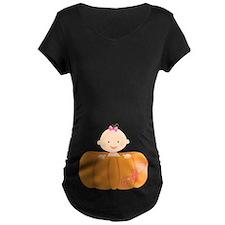 Halloween Pumpkin Baby Pregnancy T-Shirt