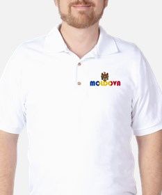 Moldova Golf Shirt