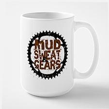 Mud, Sweat & Gears Large Mug