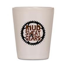 Mud, Sweat & Gears Shot Glass
