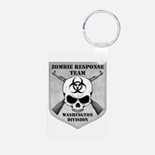 Zombie Response Team: Washington Division Keychains