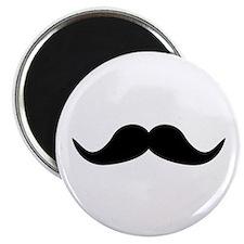 """Beard Mustache 2.25"""" Magnet (10 pack)"""