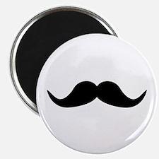 """Beard Mustache 2.25"""" Magnet (100 pack)"""