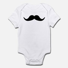Beard Mustache Infant Bodysuit