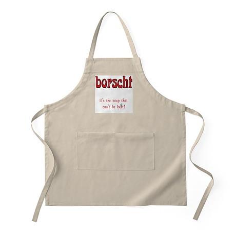 Borscht can't be beet Apron