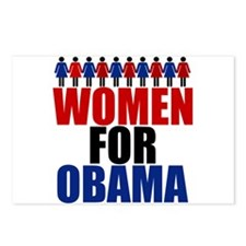 Women for Obama Postcards (Package of 8)