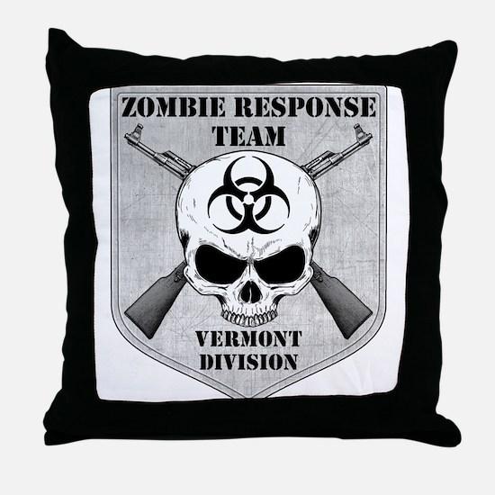 Zombie Response Team: Vermont Division Throw Pillo