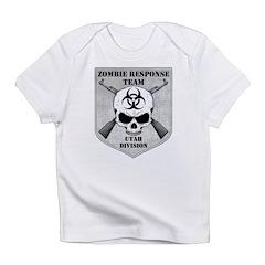 Zombie Response Team: Utah Division Infant T-Shirt