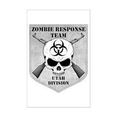 Zombie Response Team: Utah Division Posters