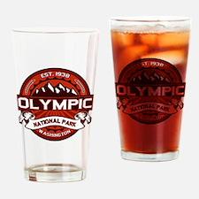 Olympic Crimson Drinking Glass