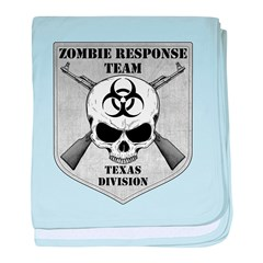 Zombie Response Team: Texas Division baby blanket