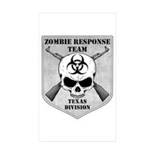 Zombie Response Team: Texas Division Decal