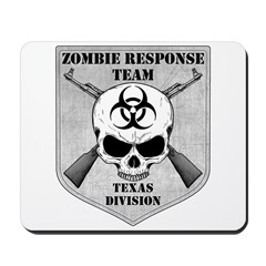 Zombie Response Team: Texas Division Mousepad