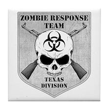 Zombie Response Team: Texas Division Tile Coaster